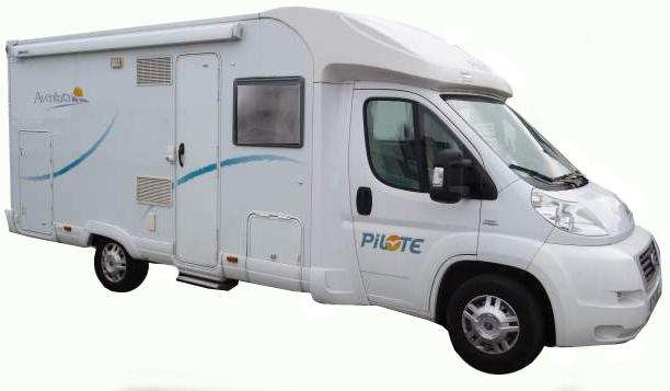 camping car occasion pilote aventura p690 profil quip. Black Bedroom Furniture Sets. Home Design Ideas