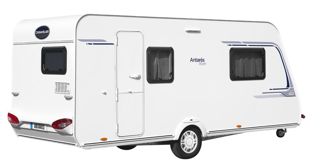 caravane caravelair antares style 460 le blog du camping car. Black Bedroom Furniture Sets. Home Design Ideas