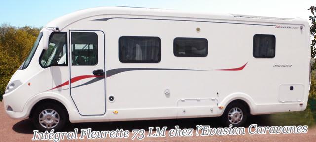 camping car fleurette 73 lm int gral occasion gironde. Black Bedroom Furniture Sets. Home Design Ideas